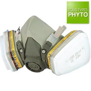 protection respiratoire masque phytos 6200 1 - Masque phytos 6200